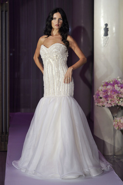 Suknia ślubna - projekt: Junko Yoshioka