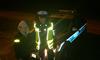 Policjanci rozdają odblaski