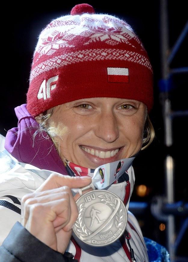 Katarzyna Pałka wicemistrzyni świata biathlon Nove Mesto