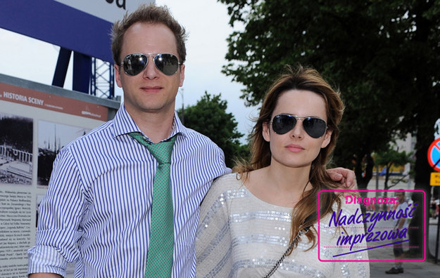 Maciej i Samantha Stuhr /Andras Szilagyi /MWMedia