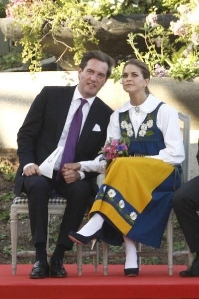 Księżniczka Madeleine i Christopher O'Neill