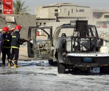 Samochody-pułapki eksplodowały w Bagdadzie