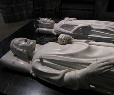 Sławna nekropolia francuskich wladców w Bazylice Saint-Denis