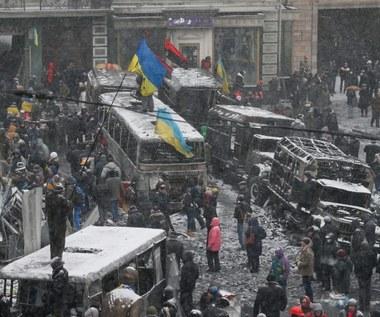 """W Kijowie wciąż niebezpiecznie. """"Za zamieszki odpowiada opozycja"""""""