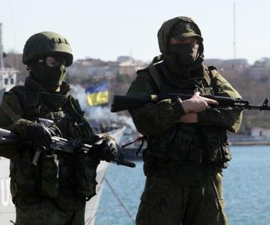 Krym: Samoobrona zablokowała ukraiński helikopter