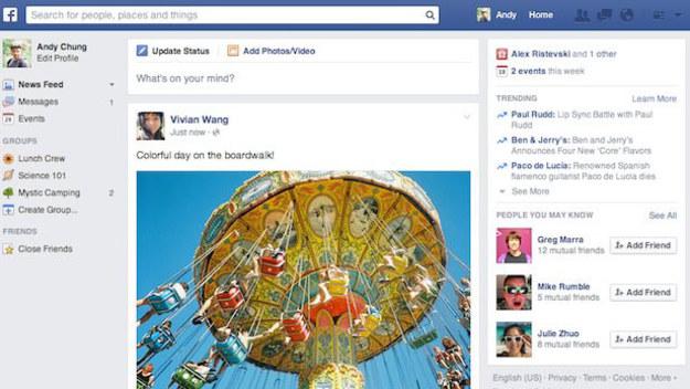 Facebook to obecnie najpopularniejszy serwis społecznościowy, odwiedzany przez setki milionów ludzi każdego dnia. Ekipa Marka Zuckerberga już rok temu zaprezentowała odświeżony wygląd strony, jednak nie każdy doczekał się tych nowości na swoim profilu. I zdaje się, że się nie doczeka, bowiem właśnie zaprezentowano nowy design.