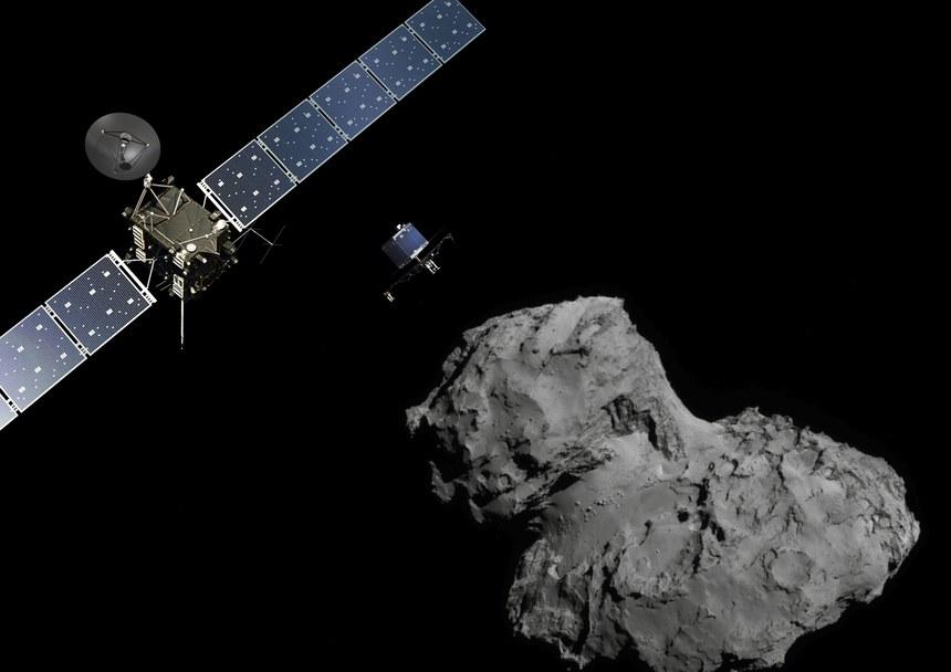 Udane lądowanie na komecie