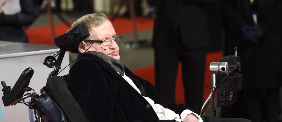 Brytyjski fizyk, profesor Stephen Hawking, przedstawił zarys swojej nowej teorii. Jego zdaniem czarne dziury, których istnienie zdefiniował przed laty, prowadzą do sąsiadujących ze sobą Kosmosów. Swoją teorię wygłosił przemawiając w Sztokholmie na forum Królewskiego Towarzystwa Technologicznego.