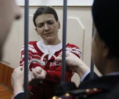 Ukraińska pilotka Nadia Sawczenko złagodziła protest głodowy