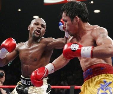 Floyd Mayweather Jr pokonał Manny'ego Pacquiao