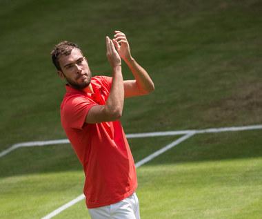 Janowicz żegna się z Wimbledonem. Odpadł w pierwszej rundzie