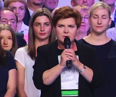 Beata Szydło: W mojej drużynie jest miejsce dla każdego Polaka