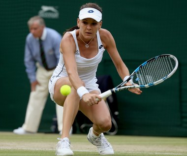 Agnieszka Radwańska w półfinale Wimbledonu