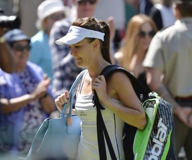 Radwańska nie zagra w finale Wimbledonu