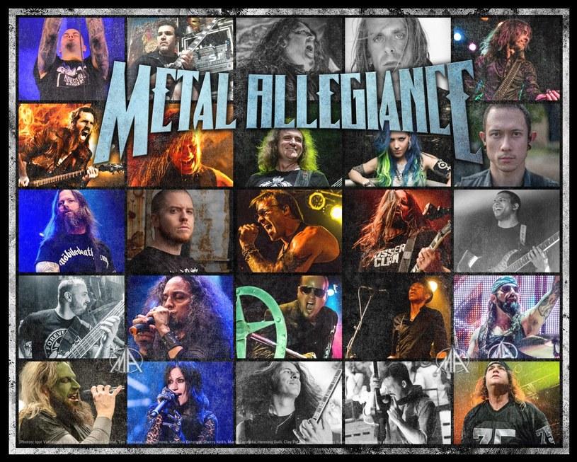 Wieloosobowy muzyczny projekt Metal Allegiance przygotował album.