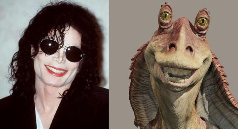 """Michael Jackson chciał zagrać rolę Jar Jar Binksa w filmie George'a Lucasa """"Gwiezdne Wojny: Część 1 - Mroczne Widmo"""" (1999) - ujawnił aktor Ahmed Best."""