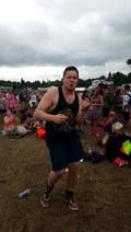 Tancerz amator zachwycił festiwalowiczów