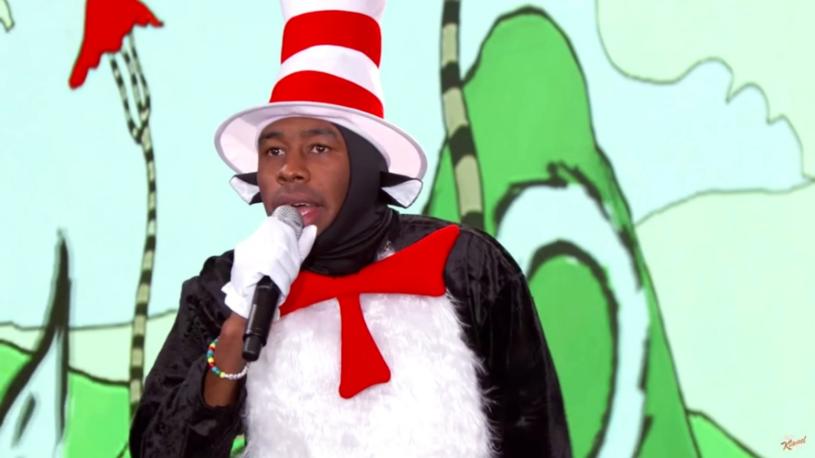 Raper wystąpił u znanego komika i zinterpretował słowa książki Doktora Seussa.