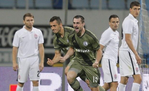 Piłkarze Legii Warszawa wygrali 1:0 z Zorią Ługańsk w Kijowie w pierwszym meczu 4. rundy kwalifikacji piłkarskiej Ligi Europejskiej. Rewanż za tydzień w Warszawie.