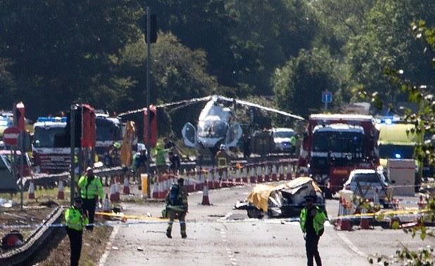 Wśród samochodów, które zostały zniszczone podczas wczorajszego wypadku myśliwca w czasie pokazów lotniczych Shoreham, była ślubna limuzyna. Informację potwierdził właściciel firmy. Do katastrofy doszło w pobliżu autostrady A27.