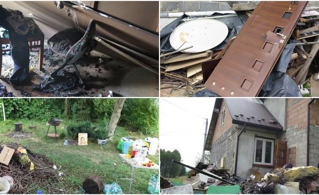 Pani Monika z Jodłówki koło Bochni w ciągu kilku minut straciła dorobek swojego życia w pożarze. Spłonęła większa część  jej domu - budynek nie nadaje się już do mieszkania. Ogień wydobył się z instalacji elektrycznej na poddaszu. Kobieta została sama, z dwójką dzieci i kredytem. Prosi o pomoc - potrzeba jej przede wszystkim materiałów budowlanych, żeby naprawić dach, zwłaszcza przed jesiennymi przymrozkami.