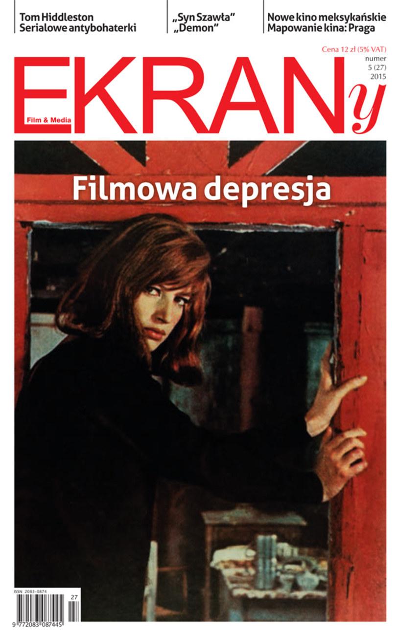 """Już niebawem pojawi się najnowszy numer pisma filmowego """"EKRANy"""". Tematem numeru jest filmowa depresja."""