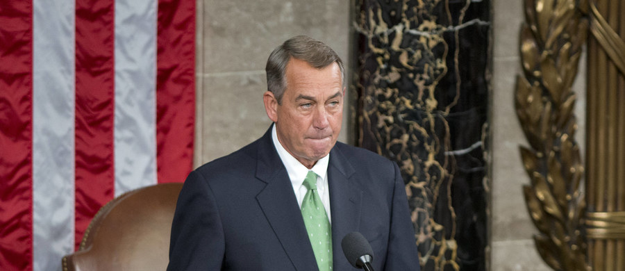 Przewodniczący Izby Reprezentantów USA republikanin John Boehner zapowiedział, że 30 października ustąpi ze stanowiska. Decyzja Boehnera o rezygnacji jest zaskoczeniem.