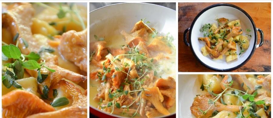 Już jesienniej w kuchni być nie może. Jak kopytka - to koniecznie z dodatkiem dyniowego puree. A jak z sosem - to tylko z grzybowym, ale delikatnym: kurkowym, maślanym. Cichym bohaterem tego dania będzie jednak świeży tymianek.
