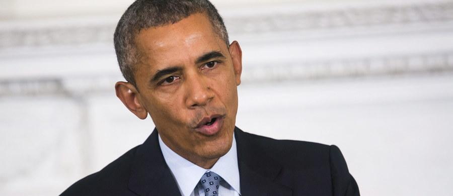 """Prezydent Barack Obama ostrzegł Rosję, że jej naloty w celu wzmocnienia prezydenta Syrii """"wepchną ją w bagno"""", z którego trudno się wydobyć. Zapewnił, że USA nie będą prowadzić zastępczej wojny z Rosją w Syrii i dalej będą atakować Państwo Islamskie."""