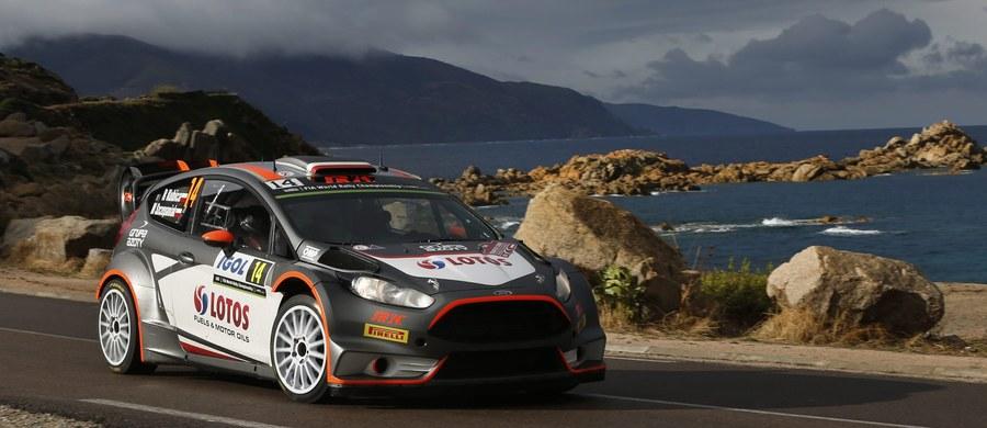 Jadący Fordem Fiestą RS WRC Robert Kubica, z pilotem Maciejem Szczepaniakiem, nie ukończyli piątego odcinka specjalnego Rajdu Korsyki, 11. rundy samochodowych mistrzostw świata. Liderem po dwóch dniach jest Fin Jari-Matti Latvala (Volkswagen Polo-R WRC).
