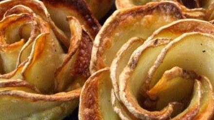 Róża z ziemniaków. Takim daniem zachwycisz gości