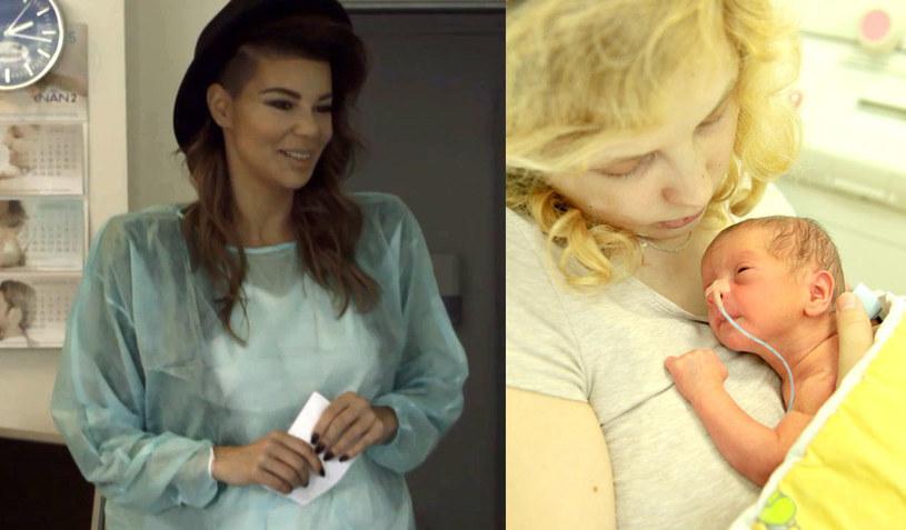 """Edyta Górniak odwiedziła w szpitalu Ujastek Angelikę, mamę Mai i Lenki, bliźniaczek urodzonych w 33. tygodniu ciąży. Spotkanie z wokalistką było marzeniem 21-letniej Angeliki, która napisała do Edyty wzruszający list. Jak wyglądało to wyjątkowe spotkanie? Widzowie TVP2 będą mieli okazję przekonać się o tym już w czwartek, 15 października, o godz. 17:15, w kolejnym odcinku cyklu dokumentalnego """"Moje 600 gramów szczęścia""""."""