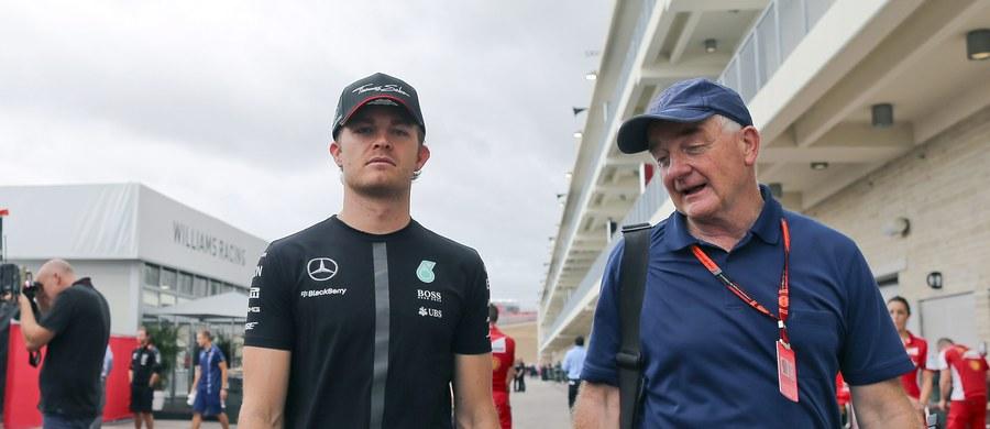 Niemiec Nico Rosberg z zespołu Mercedes GP był najszybszy na pierwszym treningu przed niedzielnym wyścigiem o Grand Prix USA na torze w Austin. Drugi został odwołany z powodu burzy i silnych opadów deszczu.