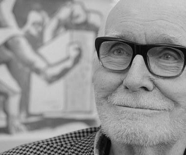 Nie żyje Wojciech Fangor, znany malarz i rzeźbiarz