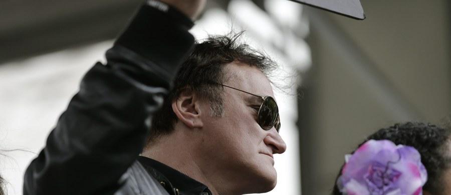 Quentin Tarantino jest w opałach. Amerykański reżyser i scenarzysta filmowy znalazł się w ogniu krytyki po słowach, które uraziły policjantów w Stanach Zjednoczonych.