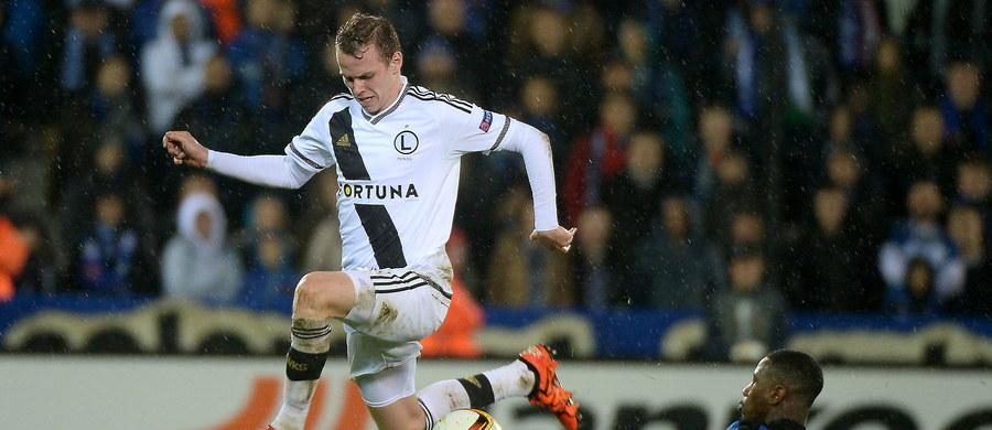 Piłkarze Legii Warszawa przegrali z FC Brugge 0:1 (0:1) na wyjeździe w meczu 4. kolejki grupy D Ligi Europejskiej. Po tej porażce Legia z dorobkiem jednego punktu zajmuje ostatnie miejsce w tabeli i ma już tylko matematyczne szanse na awans do 1/16 finału.
