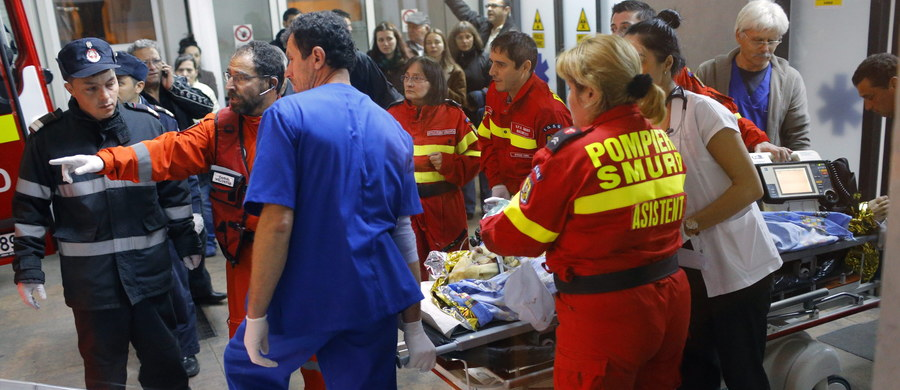 Dziewięć osób zmarło w sobotę w wyniku obrażeń odniesionych w pożarze klubu nocnego w Bukareszcie tydzień temu. W sumie w tej tragedii zginęło 41 osób.