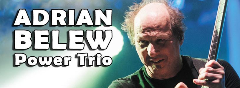 W drugiej połowie lutego 2016 r. na dwa koncerty do Polski przyjedzie Adrian Belew Power Trio - formacja muzyka znanego m.in. z King Crimson.