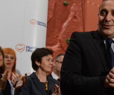 Grzegorz Schetyna: Chcę zmiany w Platformie, powrotu do korzeni