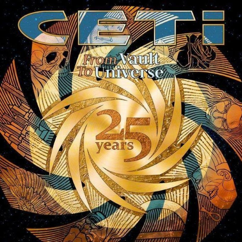 """Do sprzedaży trafił podwójny album """"From Vault To Universe"""", który jest podsumowaniem 25 lat obecności grupy CETI na polskiej scenie metalowej."""