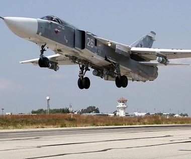 """Źródła w USA: Rosyjski Su-24 wtargnął w turecką przestrzeń """"na sekundy"""""""