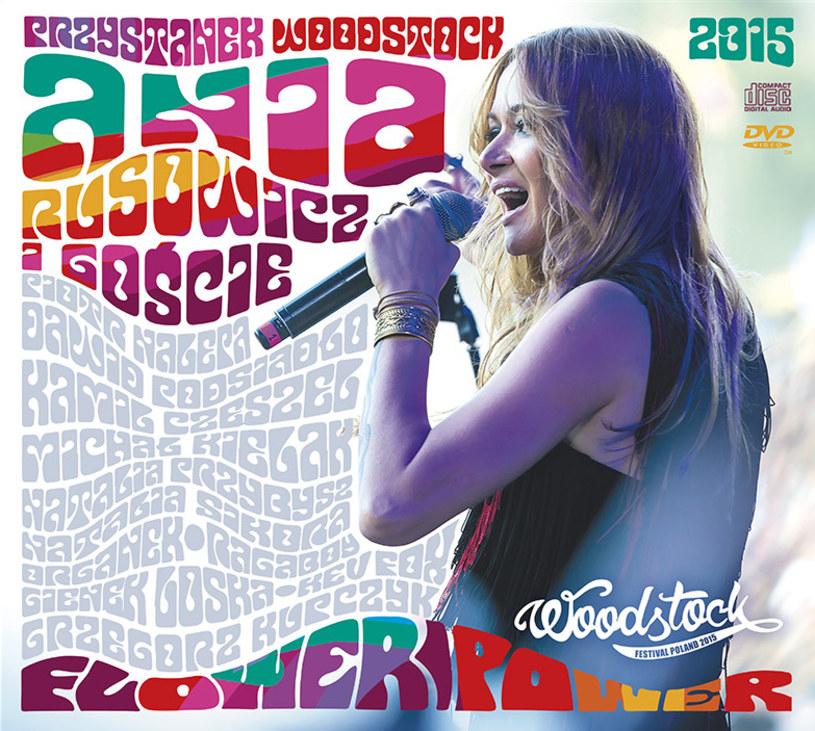 """10 grudnia do sprzedaży trafi wydawnictwo CD/DVD """"Flower Power"""" - zapis wyjątkowego koncertu Ani Rusowicz i jej gości z tegorocznego Przystanku Woodstock."""