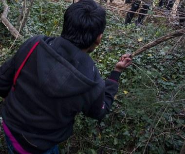 Nastoletni uchodźcy ukrywali się na odludziu. Najmłodszy ma 9 lat