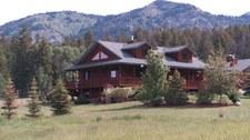 Dom w Górach Skalistych