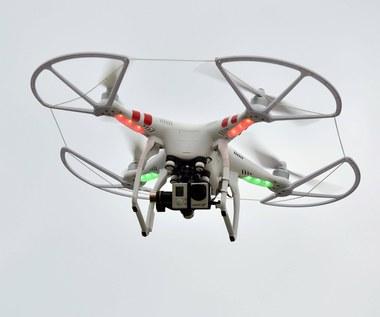 Drony upilnują granicę przed nielegalnymi imigrantami