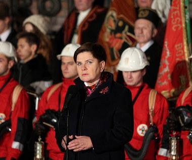 Beata Szydło: Musimy wypełnić testament górników z Wujka