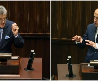 Sejm nie zgodził się na odrzucenie projektu PiS o TK. Z mównicy padały mocne słowa