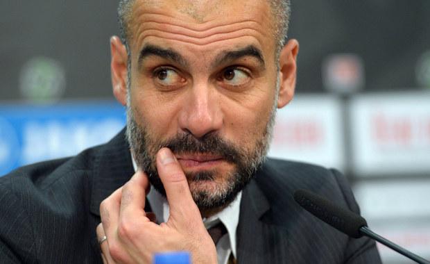 """Szkoleniowiec piłkarzy Bayernu Monachium Josep Guardiola poprowadzi od przyszłego sezonu wicemistrza Anglii Manchester City - poinformował niemiecki magazyn """"Kicker"""", powołując się na źródła w Anglii. O odejściu Katalończyka z Bayernu wiadomo od niedzieli."""