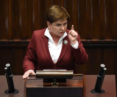 Beata Szydło: Polska będzie się szybko rozwijała. Obywatele będą czuli się bezpiecznie