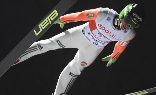 Słoweniec Peter Prevc zwyciężył w zawodach Pucharu Świata w niemieckim Willingen. Najlepszy z Polaków Stefan Hula zajął 18. miejsce.
